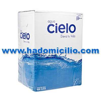 Caja de agua Cielo 20 litros descartable con caño