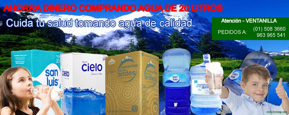 De qué tamaño comprar agua mineral para ahorrar dinero