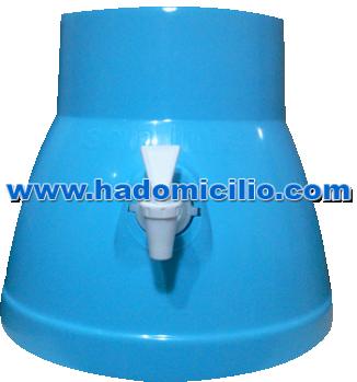 Surtidor Dispensador de agua celeste para bidon de agua San Luis 20 lt.