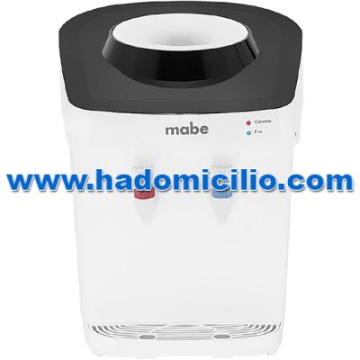 Dispensador de agua electrico Mabe de gua Fria y Caliente de mesa para bidon de agua 20 lt