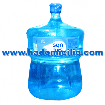 Bidon de agua San Luis 20 litros retornable