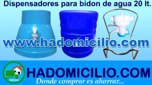 Tipos de Dispensadores de agua Mineral San Mateo 21 Lt, San Luis 20 Lts y otros