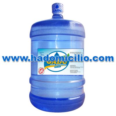 Bidon de Agua de mesa Gadu 20 lt retornable